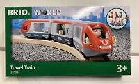 Brio World Wooden Railway Travel Train #33505 , New