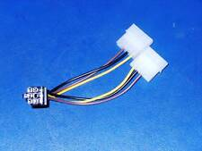 New Dual 4 Pin Molex To 6 Pin PCI Express Adapter Cable