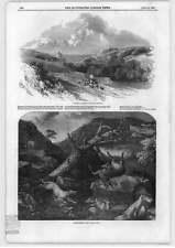 1849 vista de Hastings deerstalking cayendo Ciervo Metropolitana de Abastecimiento de Agua