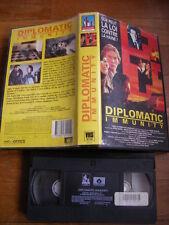 Diplomatic Immunity de Peter Maris, VHS Victory, Policier, RARE!!!