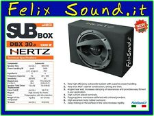 HERTZ DBX 30.3 SUBWOOFER  1000 WATT MAX  POWER  PASSIVO   IN CASSA   CHIUSA