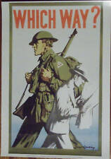 POSTER SET OF SIX WW2 AUSTRALIAN RECRUITING POSTERS -   A3 SIZE