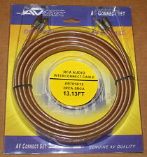 AV Link Pr Audio RCA Cable AR7812 - 13.13 ft, Brand NEW