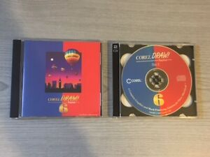 Corel Draw! Suite 6 CD Rom 1996 Software Power Macintosh Graphics Word