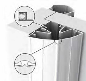 Finprotect 5090 193 cm Fingerschutzprofil Fingerklemmschutz anthrazit grau