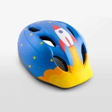 Childrens Bike Cycle Helmet MET Super Buddy Blue Rocket 52-57 cm