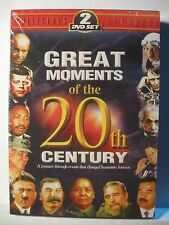 Great Moments of the 20th. Century (2 DVD Set) New & Factory Sealed