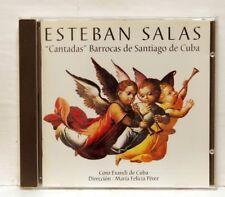 MARIA FELICIA PEREZ - SALAS Cantadas Barrocas de Santiago de Cuba JADE CD NM