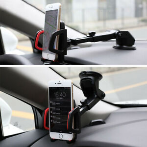 360°Car Phone Holder for Dashboard Stand GPS for iPhone & Samsung Phones.