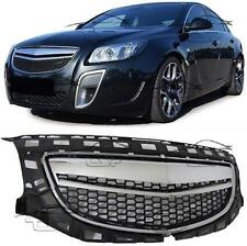 FRONT CHROME GRILL FOR VAUXHALL INSIGNIA 08-13 OPC LOOK NO EMBLEM BODY KIT NEW
