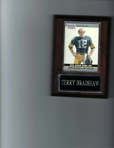TERRY BRADSHAW PLAQUE PITTSBURGH STEELERS FOOTBALL NFL   C2