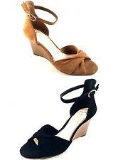 Jessica Simpson Lindella Leather Wedge Sandals Choose Sz/Color