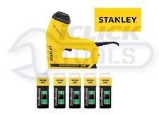 STANLEY STA0TRE550 Elettrico Heavy-Duty Staple Sparachiodi 0-TRE550 con punti metallici NUOVO