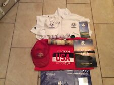 Ryder Cup T Shirts Programme And Balls Caps