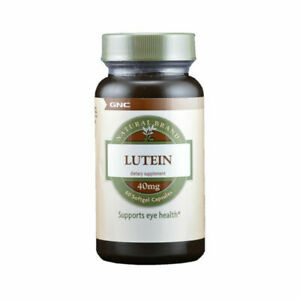 GNC Natural Brand Lutein 40mg 60 Softgel Capsules EX:08/2022