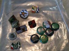 13 vintage Irish pins