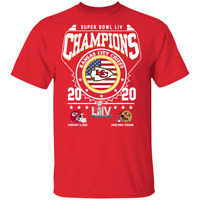 Kansas City Chiefs are Super Bowl champions 2020 Men's TShirt