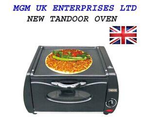 P&B Mini Tandoor Oven Lahmacun Pizza Chapati Roti Naan Bread Maker