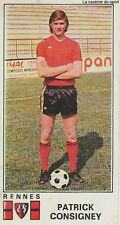 N°293 PATRICK CONSIGNEY # STADE RENNAIS STICKER PANINI FOOTBALL 1977