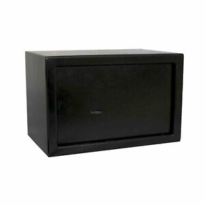 NEW! 10L Key Operated Steel Safe Box Gun Ammunition Security Home Office