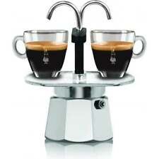 BIALETTI Mini Express Aluminium Double Serve Stovetop Coffee Maker (2 servings)