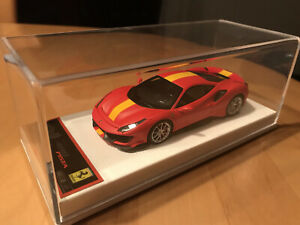 BBR 1:43 Ferrari 488 Pista Red SF 90