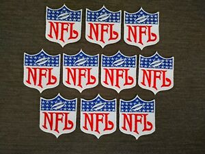 10 pcs LOGO NPL Sport Team Badge Patch Iron on Embroidered  Sew on