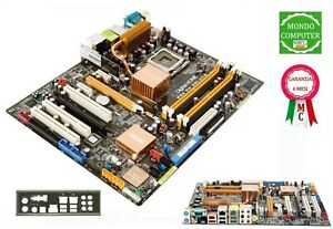 SCHEDA MADRE SOCKET LGA  775 ASUS P5W DH DELUXE  +  BACK PANEL