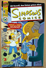 SIMSONS COMICS Nr. 48 OKTOBER 2000 HOMER vs. BURNS + ROSWELL + Radioactive Man