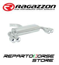 RAGAZZON SCARICO SDOPPIATO TERMINALI TONDI 2/2x80 VW GOLF V 1.4TSI GT 103kW