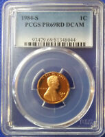 1984-S Lincoln Memorial Cent PCGS PR69RD DCAM ~ Very Nice Coin ~PRICED RIGHT