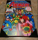 The Avengers (Squadron Sinister) Wall Plaque (Marvel Comic Print, 13