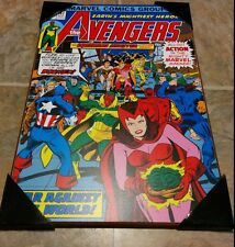 """The Avengers (Squadron Sinister) Wall Plaque (Marvel Comic Print, 13""""x19"""") #147"""