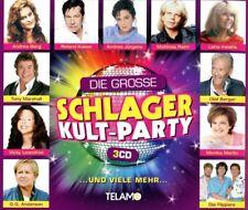 DIE GROSSE SCHLAGER KULT PARTY  (Geier Sturzflug,  Klaus & Klaus) 3 CD NEUF