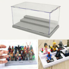 3 Step Acrylic Display Show Case Box for Lego Minifigure Assemble Dustproof