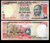 INDIA 1000 1,000 RUPEES ND 2000 P 94 W/O LETTER AU-UNC