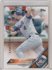 2016 Topps Limited Edition #86 Wilmer Flores Mets