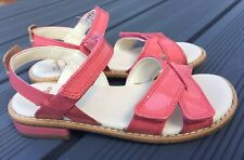 GIRLS CLARKS DARCY CHARM LEATHER SANDALS SIZE 11F
