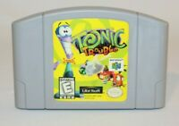 Tonic Trouble N64 Nintendo 64 AUTHENTIC & Tested! Works Great! Underrated Game!