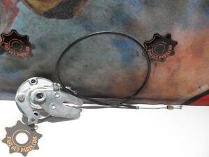 2002 LEM LX2 50 FRONT BRAKE DRUM & PADS + FRONT BRAKE CABLE  03 LX50
