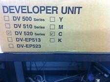 Original Kyocera DV520C Procesadora de imágenes DEVELOPER cian 302HJ93041 para