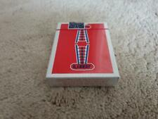 Jerry's Nugget Playing Cards Red Vintage Feel Deck Rare Limited not Bicycle.