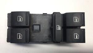 GOLF 5  SEAT AUDI SKODA Main Window Control Switch Buttons 1K4959857B