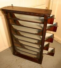 19th Century 9 Drawer Cigarette Cabinet, by Stephen Mitchell and Sons of Glasgow