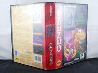 Radical Rex (Sega Genesis, 1993) No Manual Tested Ships Free
