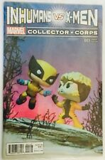 comic MARVEL INHUMANS VS X- MEN #001 VARIANT COVER EDITION COLLECTOR CORPS