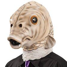 Carnival Toys 1453 - Maschera Pesce in Lattice con Cavallotto Beige