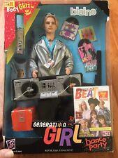 BLAINE Generation Girl Dance Party 1999 Barbie Doll D.J. Techno #26111 RAVE Ken