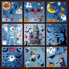 Halloween Decorazioni Adesivi Finestre PVC per Casa Negozi Festa