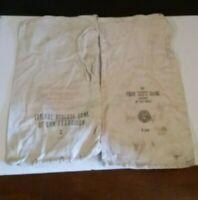 Vintage Bank Money Deposit Bags First National Trust & Federal Reserve Bank